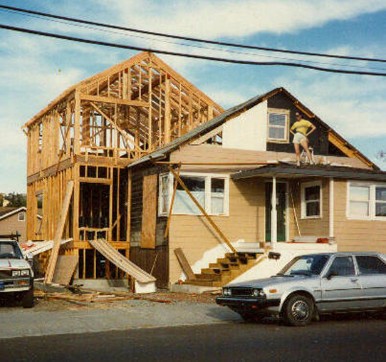 My benicia fixer upper steve mckee architalk for Framing a second floor addition