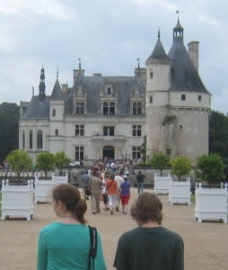 Chateau in Chenonceaux France