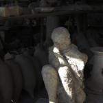 A Pompeii citizen's last pose