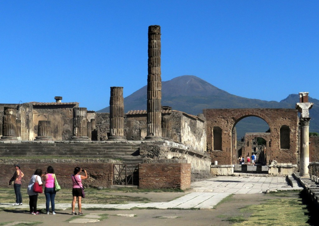 Pompeii and Mt Vesuvius partners in one of the grand human stories