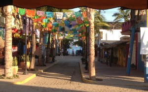 Sayulita in Nayarit Mexico