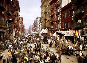 Mulberry Street Little Italy circa 1900